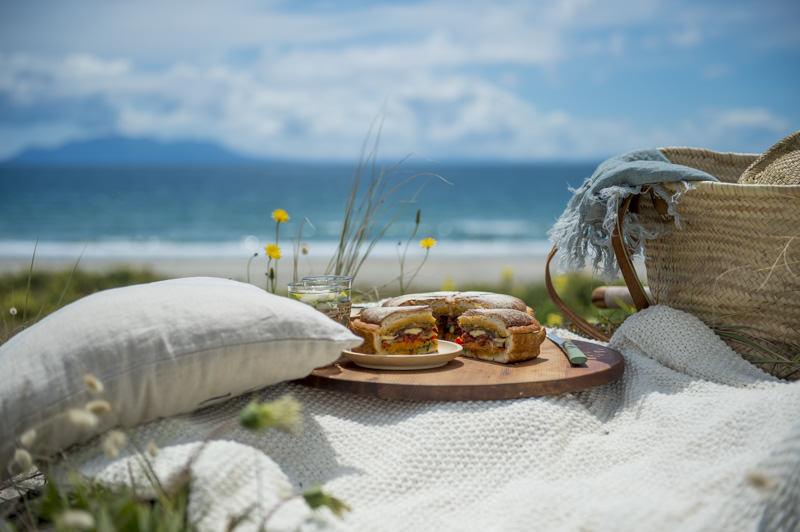 picnic styled food photography matakana omaha beach photographer by lolamedia.co.nz