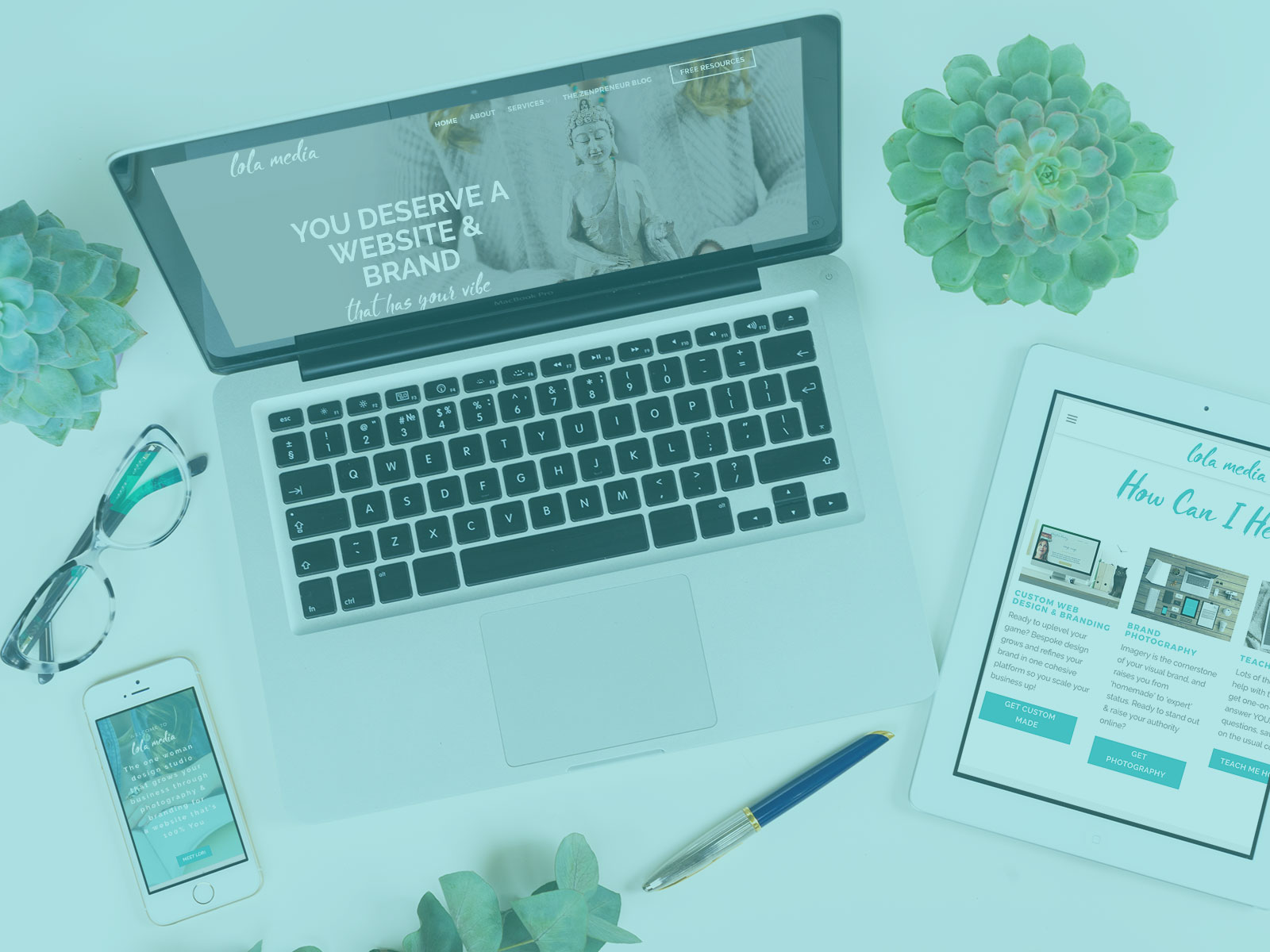 Does your website design fit with your brand by lolamedia