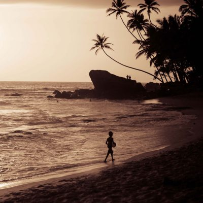 Wijaya Beach, southeast of Galle, Sri Lanka by Lori Satterthwaite lolamedia.co.nz